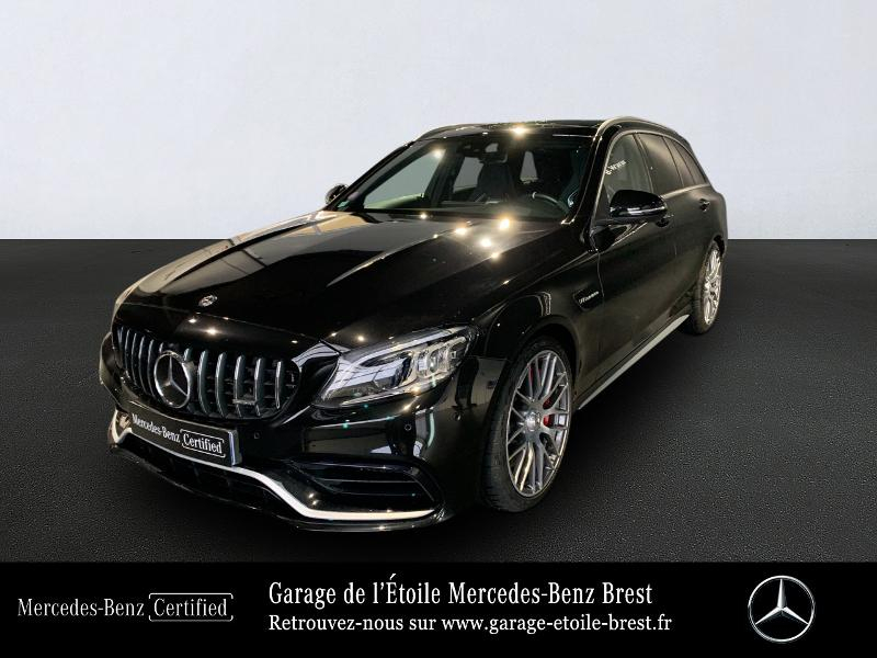 Mercedes-Benz Classe C Break 63 AMG S 510ch 4Matic Speedshift MCT AMG Essence Noir Obsidienne Occasion à vendre