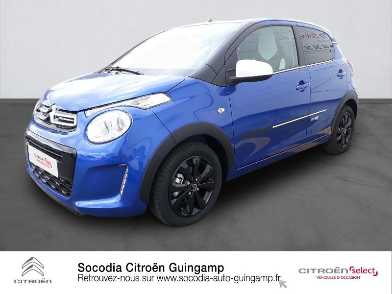 Photo 1 de l'offre de CITROEN C1 VTi 72 S&S Urban Ride 5p E6.d-TEMP à 13400€ chez Socodia - Citroën Guingamp