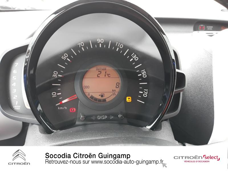 Photo 12 de l'offre de CITROEN C1 VTi 72 S&S Urban Ride 5p E6.d-TEMP à 13400€ chez Socodia - Citroën Guingamp