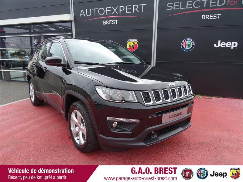 Jeep Compass 1.4 MultiAir II 140ch Longitude Business 4x2 Euro6d-T Essence Diamond Black Crystal Occasion à vendre