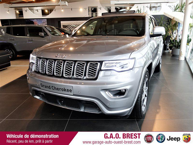 Jeep Grand Cherokee 3.0 V6 250ch Overland BVA8 Euro6d-T Diesel Billet Silver Occasion à vendre