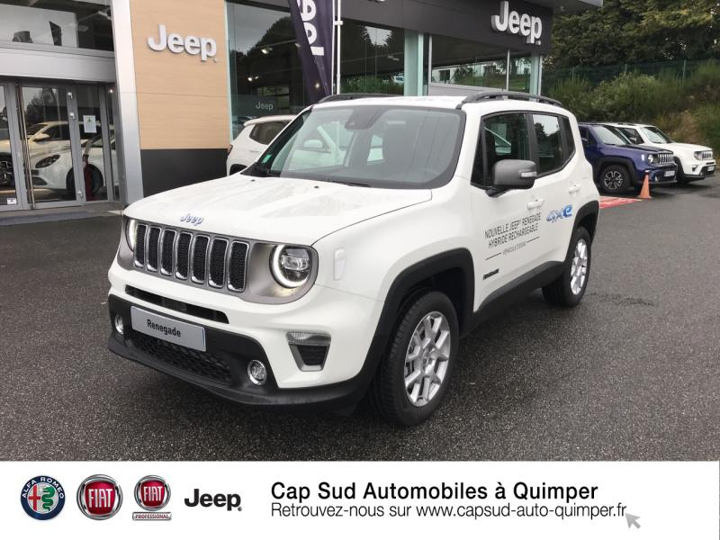 Jeep Renegade 1.3 GSE T4 190ch 4xe Limited AT6 Hybride rechargeable : Essence/Electrique  Occasion à vendre