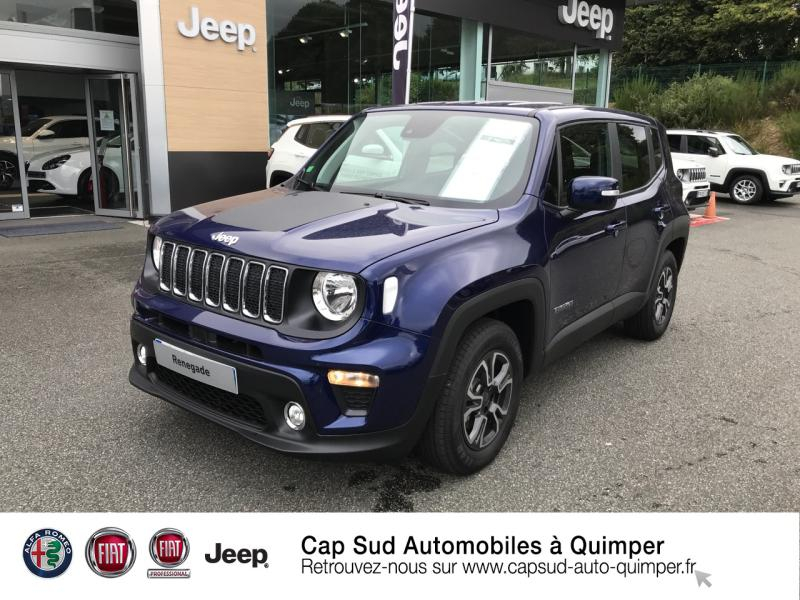 Jeep Renegade 1.0 GSE T3 120ch Quicksilver Winter Edition MY20 Essence Jet Set Blue Occasion à vendre