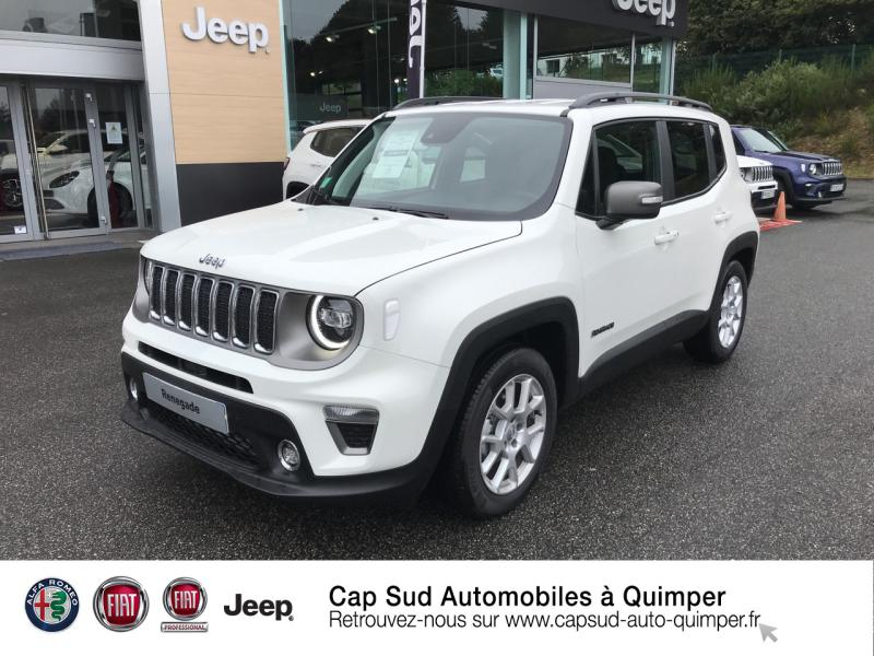 Jeep Renegade 1.6 MultiJet 120ch Limited Diesel Alpine White Occasion à vendre