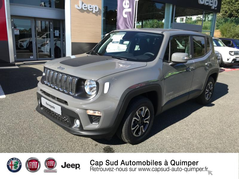 Jeep Renegade 1.6 MultiJet 120ch Quicksilver Winter Edition MY20 Diesel Sting Gray Occasion à vendre