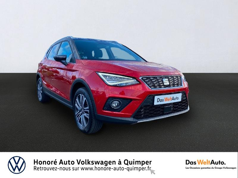 Seat Arona 1.0 EcoTSI 115ch Start/Stop Xcellence DSG Essence ROUGE DESIR Occasion à vendre