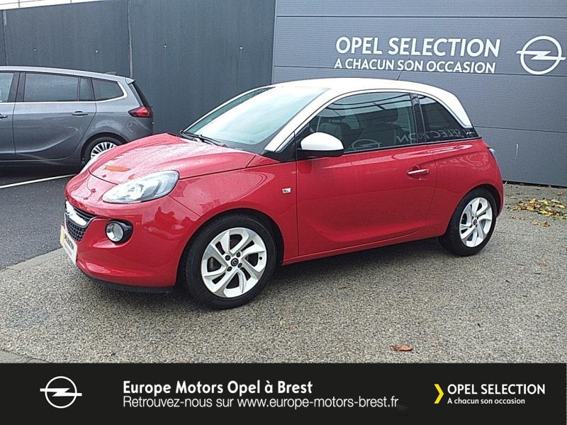 Opel Adam 1.4 Twinport 87ch White Edition Start/Stop Essence Rouge  Red 'n' Roll  Occasion à vendre