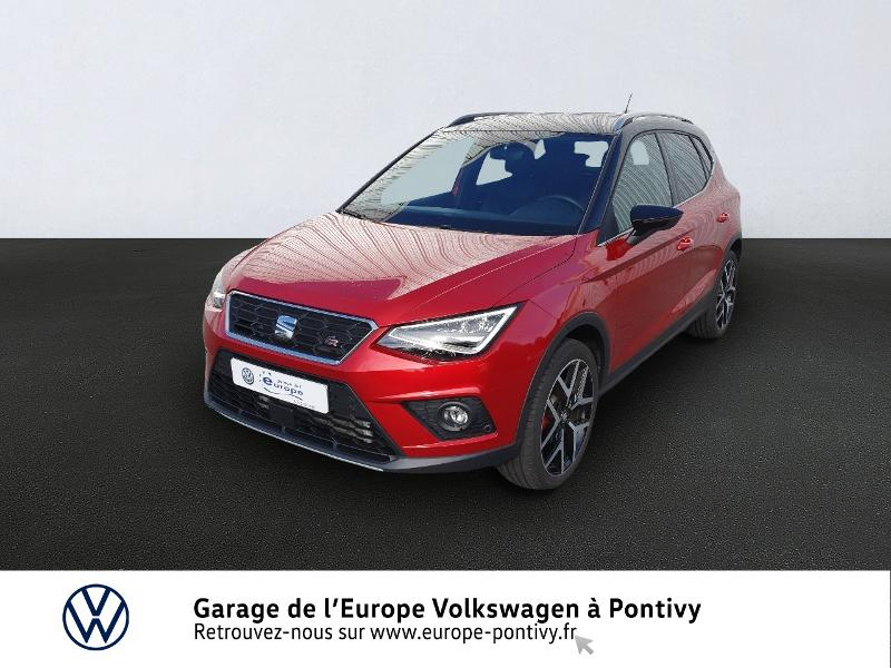 Seat Arona 1.0 EcoTSI 115ch Start/Stop FR DSG Euro6d-T Essence Rouge Desir Occasion à vendre