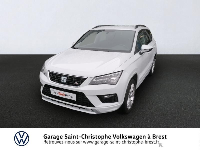 Seat Ateca 1.5 TSI 150ch ACT Start&Stop FR DSG Euro6d-T 117g Essence BLANC NEVADA Occasion à vendre