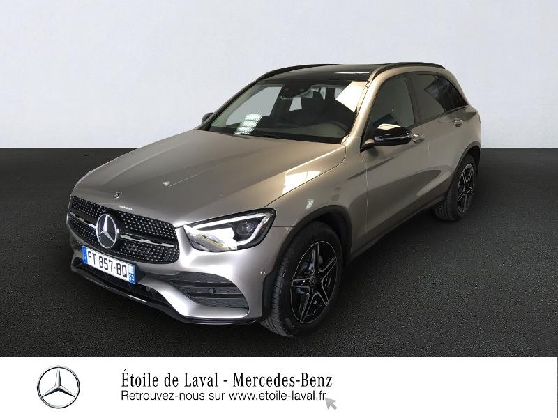 Mercedes-Benz GLC 220 d 194ch AMG Line 4Matic 9G-Tronic Diesel ARGENT MOJAVE Occasion à vendre