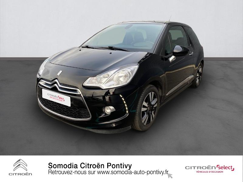 Citroen DS3 1.6 VTi So Chic 6cv Essence NOIR Occasion à vendre