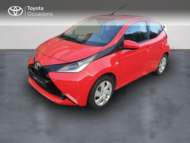 Toyota Aygo 1.0 VVT-i 69ch x-red 5p Essence ROUGE CHILIEN Occasion à vendre