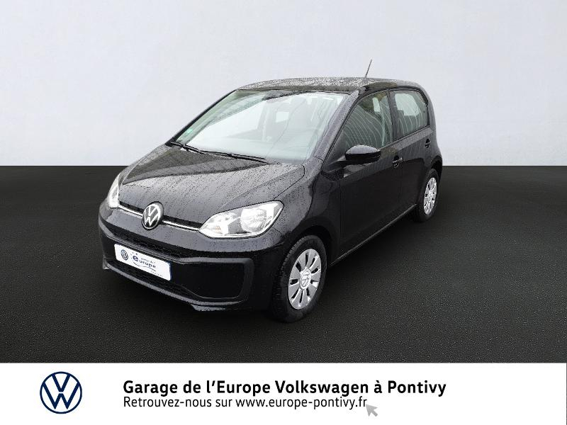 Volkswagen up! 1.0 60ch BlueMotion Technology Lounge 5p Essence NOIR INTENSE NACRE Occasion à vendre