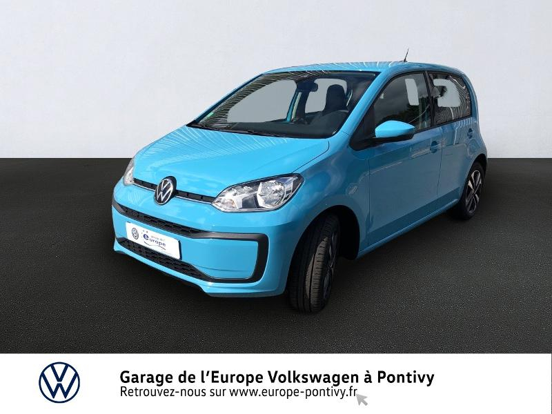 Volkswagen up! 1.0 60ch BlueMotion Technology United 5p Essence Bleu Adriatique Occasion à vendre