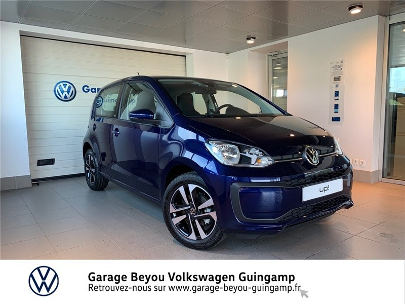 Volkswagen UP 1.0 60 BLUEMOTION TECHNOLOGY BVM5 Essence sans plomb Bleu Atlantique Occasion à vendre