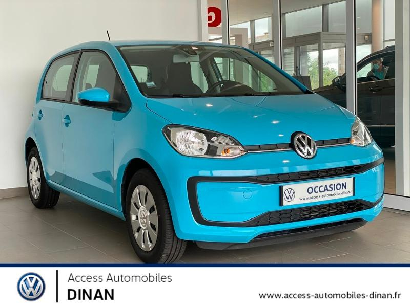 Volkswagen up! 1.0 60ch BlueMotion Technology up! Connect 5p Essence BLEU Occasion à vendre