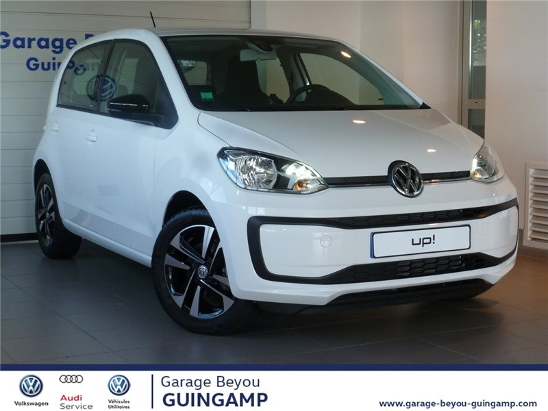 Volkswagen UP 1.0 75 BLUEMOTION TECHNOLOGY BVM5 Essence sans plomb Blanc Candy Occasion à vendre