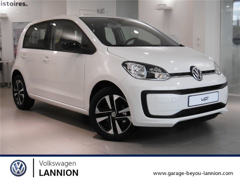 Volkswagen UP 1.0 60 BLUEMOTION TECHNOLOGY BVM5 Essence sans plomb Blanc Candy  Occasion à vendre