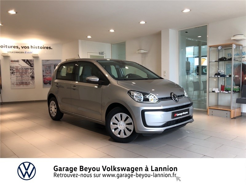 Volkswagen UP 1.0 60 BLUEMOTION TECHNOLOGY BVM5 Essence sans plomb GRIS TUNGSTENE Occasion à vendre