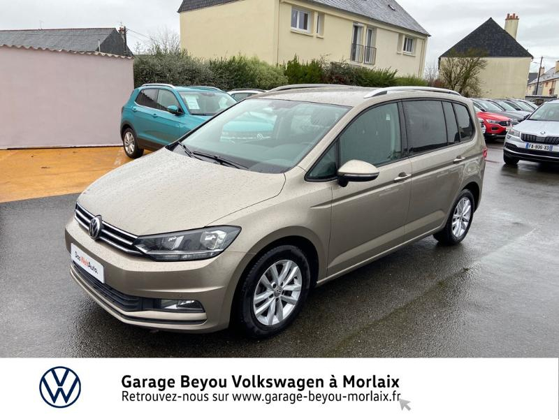 Volkswagen Touran 2.0 TDI 150ch BlueMotion Technology FAP Confortline Business DSG6 5 places Diesel BEIGE TITANE.METAL Occasion à vendre