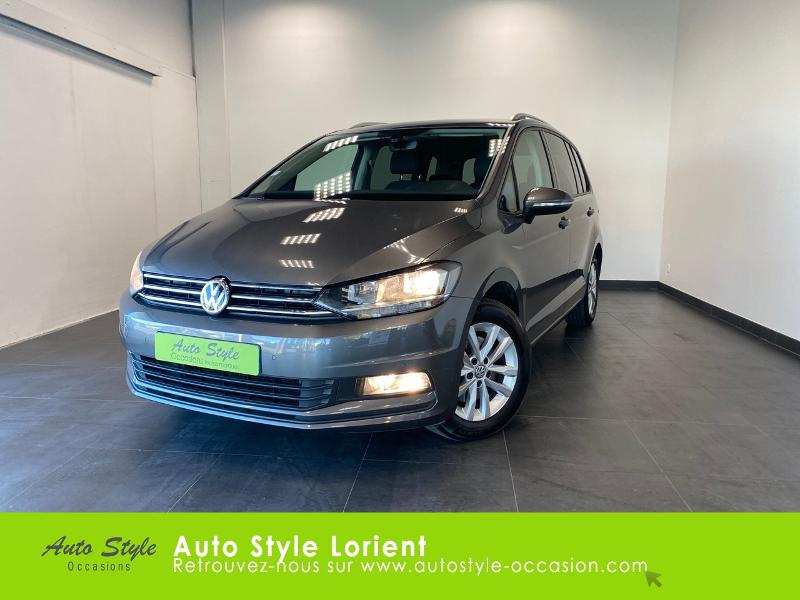 Volkswagen Touran 1.6 TDI 110ch BlueMotion Technology FAP Confortline Business 7 places Diesel GRIS Occasion à vendre
