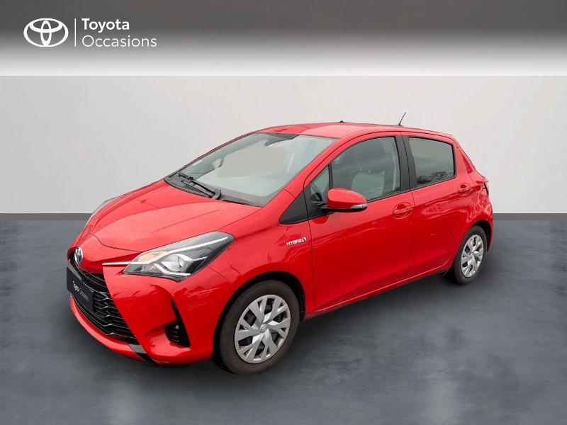 Toyota Yaris 100h France 5p Hybride ROUGE CHILIEN Occasion à vendre