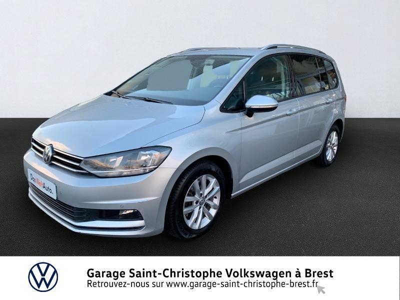 Volkswagen Touran 1.6 TDI 115ch BlueMotion Technology FAP Confortline Business DSG7 7 places Diesel REFLET ARGENT Occasion à vendre