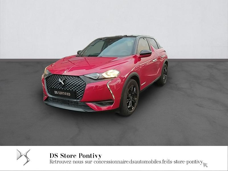 Ds DS 3 Crossback PureTech 100ch Performance Line 107g Essence ROUGE RUBI Occasion à vendre