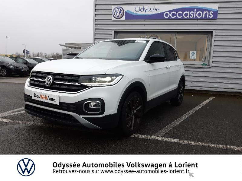 Volkswagen T-Cross 1.0 TSI 115ch First Edition Essence BLANC PUR Occasion à vendre