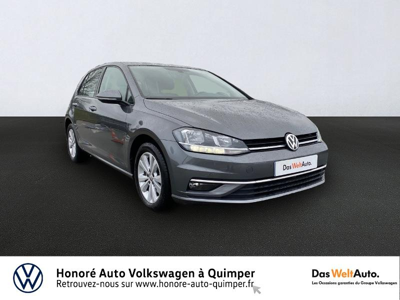 Volkswagen Golf 1.6 TDI 115ch BlueMotion Technology FAP First Edition DSG7 5p Diesel GRIS INDIUM METAL Occasion à vendre
