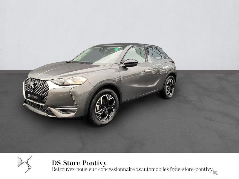 Ds DS 3 Crossback PureTech 100ch So Chic Essence GRIS PLATINIUM Occasion à vendre