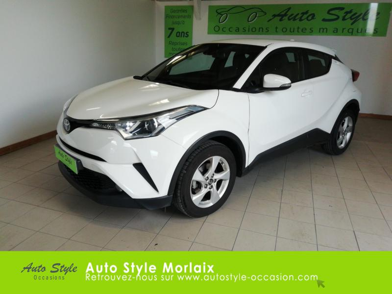 Toyota C-HR 1.2 Turbo 116ch Dynamic Business 2WD Essence Blanc Pur Occasion à vendre