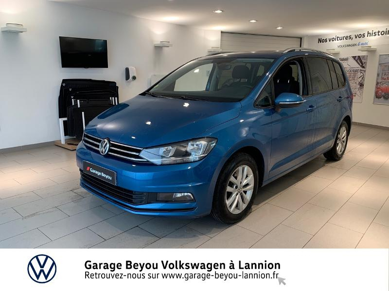 Volkswagen Touran 2.0 TDI 150ch BlueMotion Technology FAP Confortline Business 7 places Diesel BLEU CARAIBES Occasion à vendre