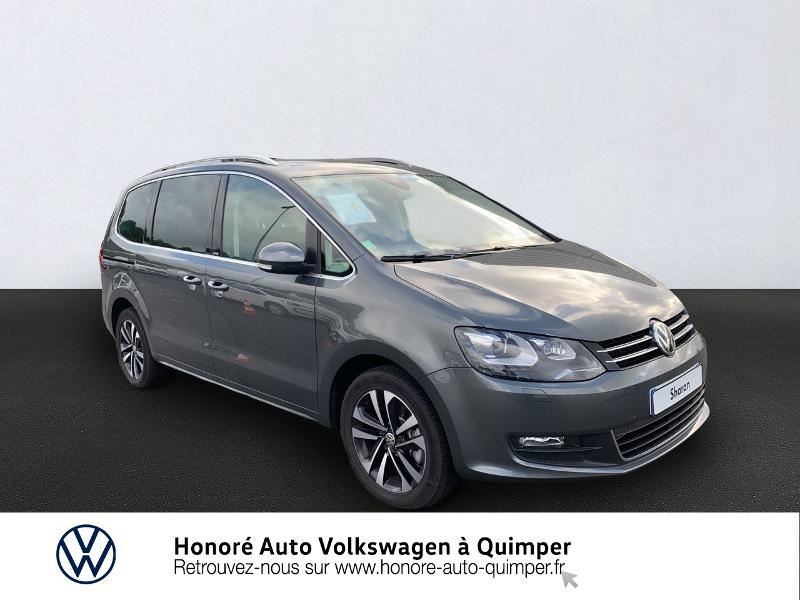 Volkswagen Sharan 2.0 TDI 150ch BlueMotion Technology United DSG6 Euro6d-T Diesel gris indium Occasion à vendre