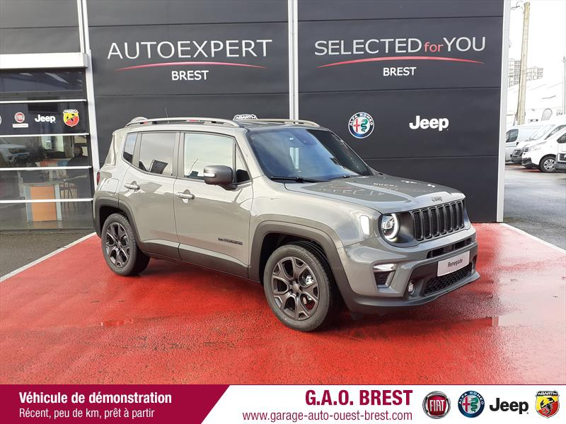 Jeep Renegade 1.6 MultiJet 130ch 80TH Anniversary MY21 Diesel Sting Gray Occasion à vendre