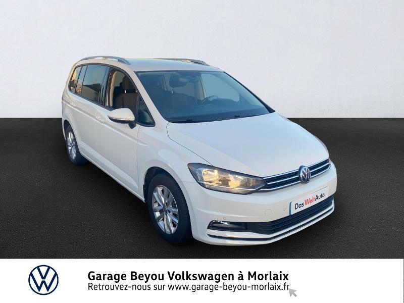 Volkswagen Touran 2.0 TDI 150ch BlueMotion Technology FAP Confortline Business DSG6 5 places Diesel BLANC PUR Occasion à vendre