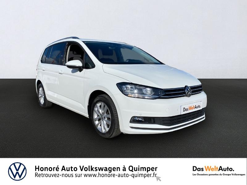 Volkswagen Touran 2.0 TDI 150ch BlueMotion Technology FAP Confortline Business DSG6 5 places Diesel BLANC Occasion à vendre