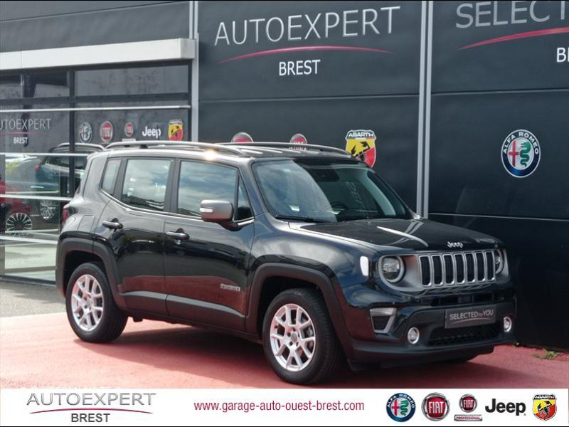 Jeep Renegade 1.0 GSE T3 120ch Limited Essence Noir Occasion à vendre